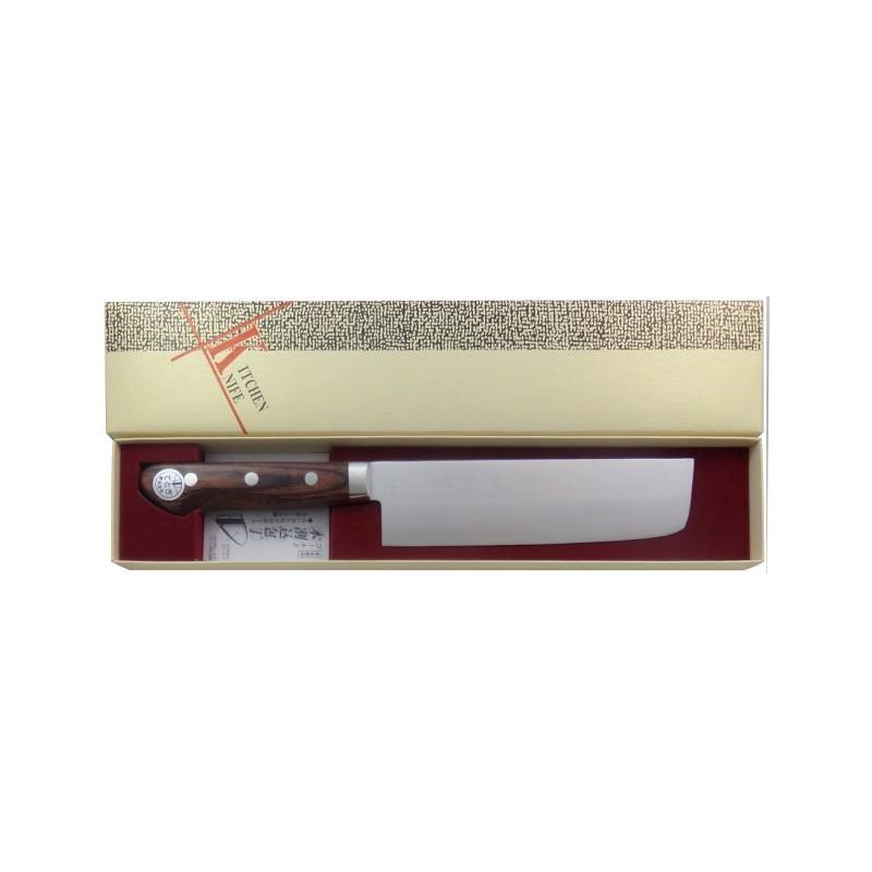 Cuchillo Japones Nakiri para Verdura 165 mm - Made in Japan