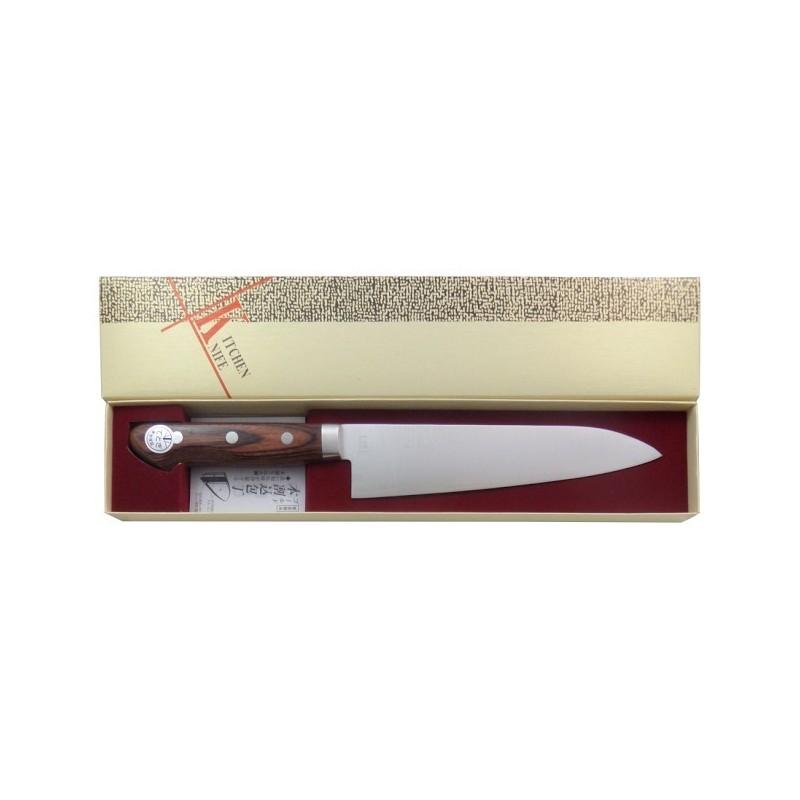 Japanische Kengata Messer für Fleisch, Fisch und Gemüse, 180 mm - Made in Japan