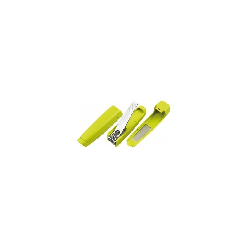 2 in 1 Green Nail Clipper with Container and File