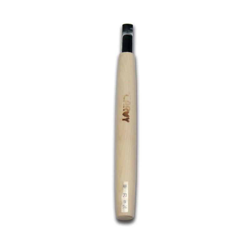 Coltello da Intaglio Legno Lama Retta 9 mm - Carvy Made in Japan
