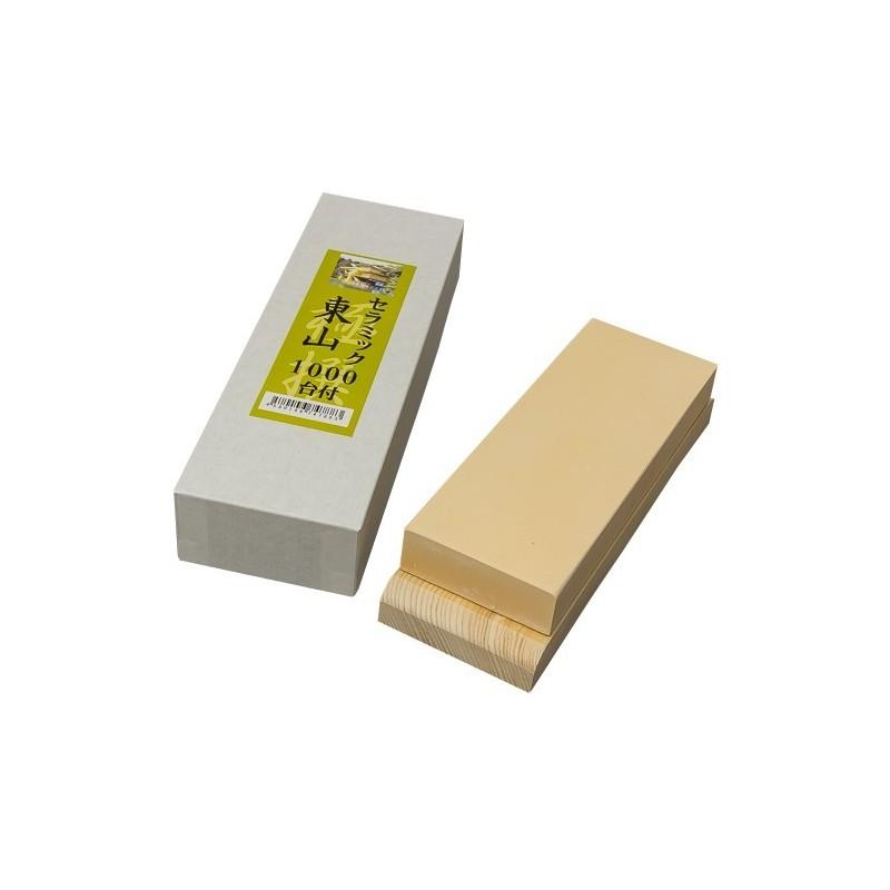 Piedra de Afilar Cuchillos Grano 1000 - Kyo Higashiyama Made in Japan