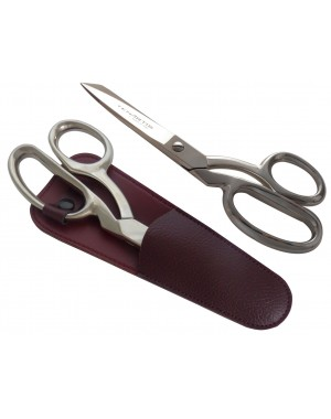Fabric, Dressmaking, Sewing Scissors 20 cm/8 inch with Scabbard - Tenartis Made in Italy