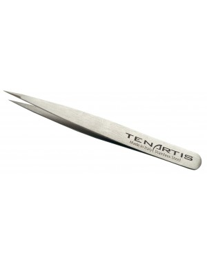 Pointed Hair Tweezers Stainless Steel - Tenartis Made in Italy