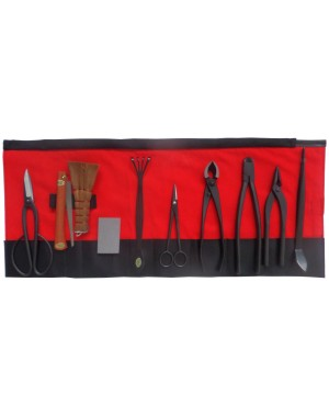 10-pc. Bonsai Tool Set - Bairyu Made in Japan