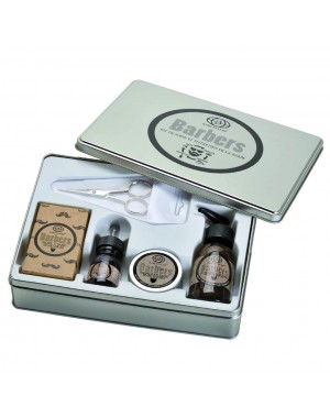 5 pc. Deluxe Beard Grooming Kit - Barbers by Baruffaldi