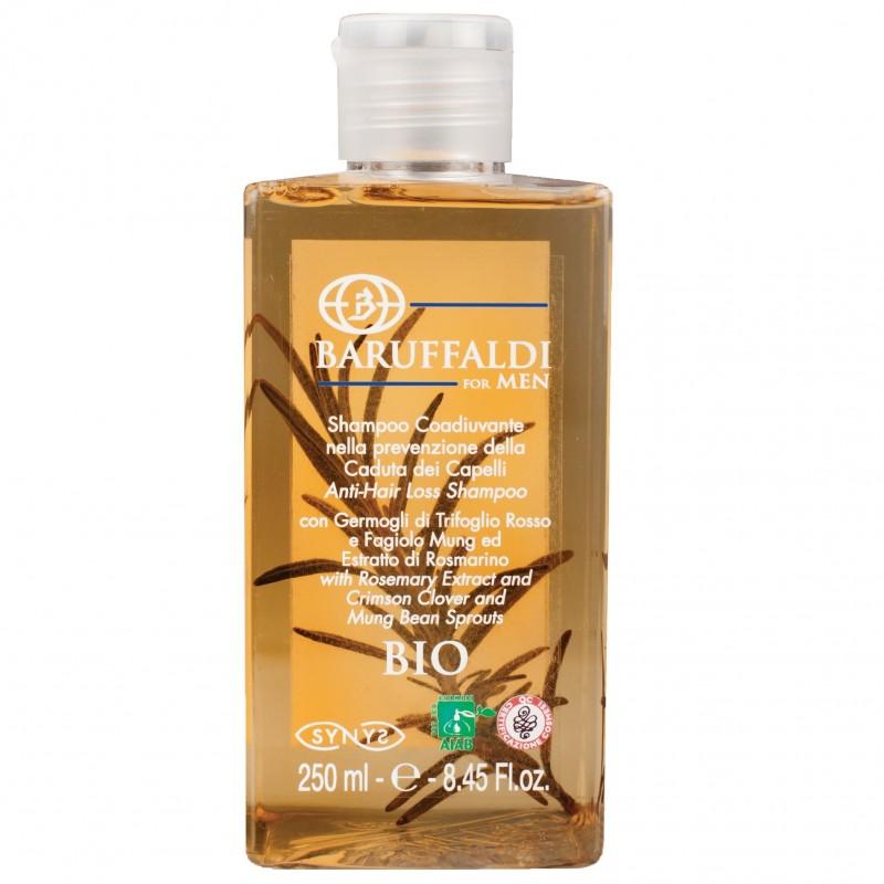 Shampoo Anticaduta BIO con Estratto di Rosmarino 250 ml - BaruffaldiBio for Men Made in Italy