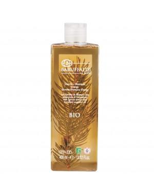 Shampooing Douche BIO Energy à l'Extrait de Sapin et Huile Essentiel d'Eucalyptus 400 ml - BaruffaldiBio for Men Made in Italy