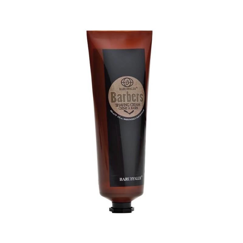 Rasierset: Rasiercreme und Energy After Shave Gel Barbers by Baruffaldi Made in Italy in Leder Etui