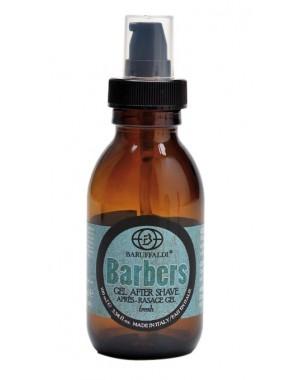 Set per Rasatura Barba: Crema da Barba, Gel Dopo Barba Fresh Barbers by Baruffaldi Made in Italy con Pochette in Vera Pelle