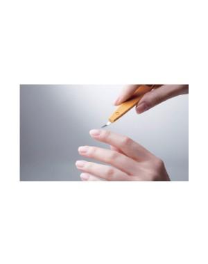 Outil Manucure 3 en 1: Repousse Cuticule, Coupe Cuticules et Cure Ongles