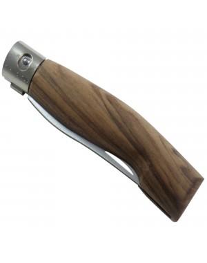 Cuchillo Plegable Artesanal 10 cm con Sistema de Bloqueo Patentado y Mango en Madera de Nogal - Codega Made in Italy