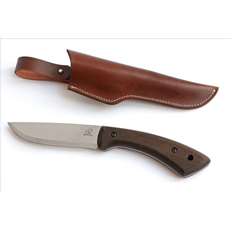 Bushcraft Messer mit Eicheholz Griffe - BeaverCraft BSH1