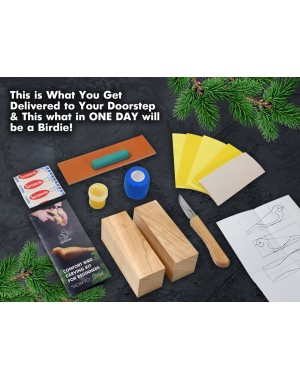 BeaverCraft Comfort Bird Carving Kit DIY01