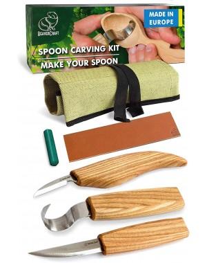 Holzschnitzwerkzeug-Set 3 Stk. mit Schälmesser - BeaverCraft S13