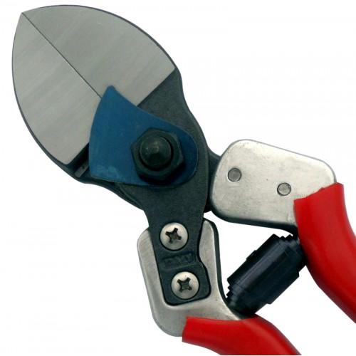 Forbici da Potatura a Doppio Taglio con Manico in Alluminio e Lame Intercambiabili 21 cm - Tenartis Made in Italy