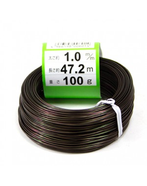 Bonsai Anodized Aluminium Wire 100 g - Ishizaki Kenzan Made in Japan