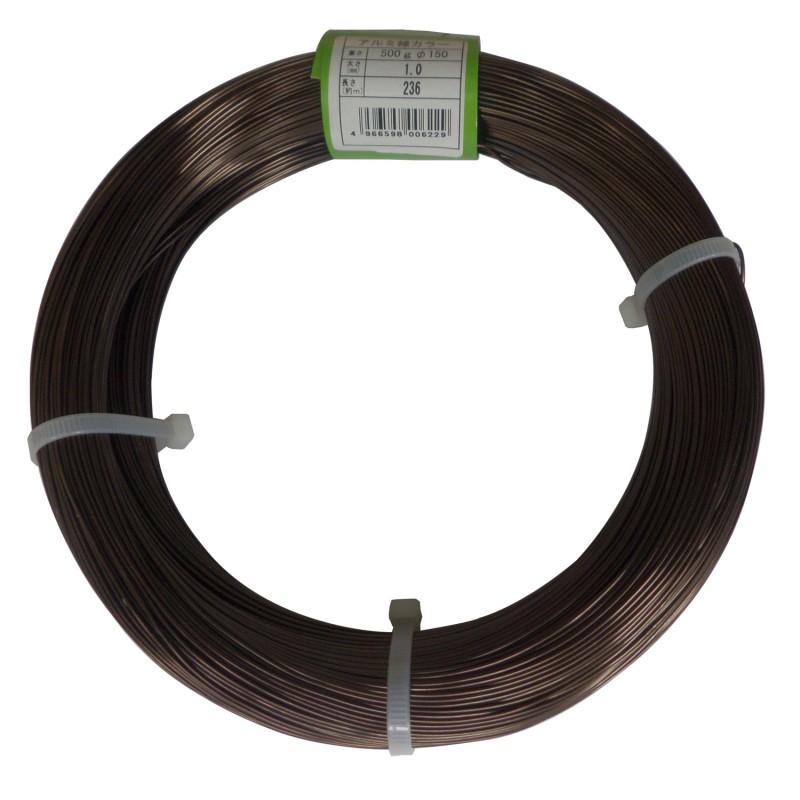 Fil de Ligature en Aluminium pour Bonsaï 500 g - Ishizaki Kenzan Fabriqué au Japon