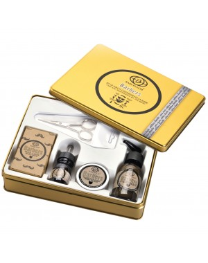 5 pc. Limited Edition Beard Grooming Kit - Barbers by Baruffaldi