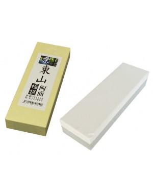 Doppelseitige Wetz-, Schleifstein Körnung 1000/4000 - Kyo Higashiyama Made in Japan  (Zweiten Wahl)