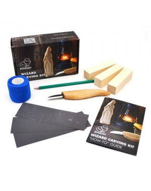 BeaverCraft Wizard Carving Kit DIY03