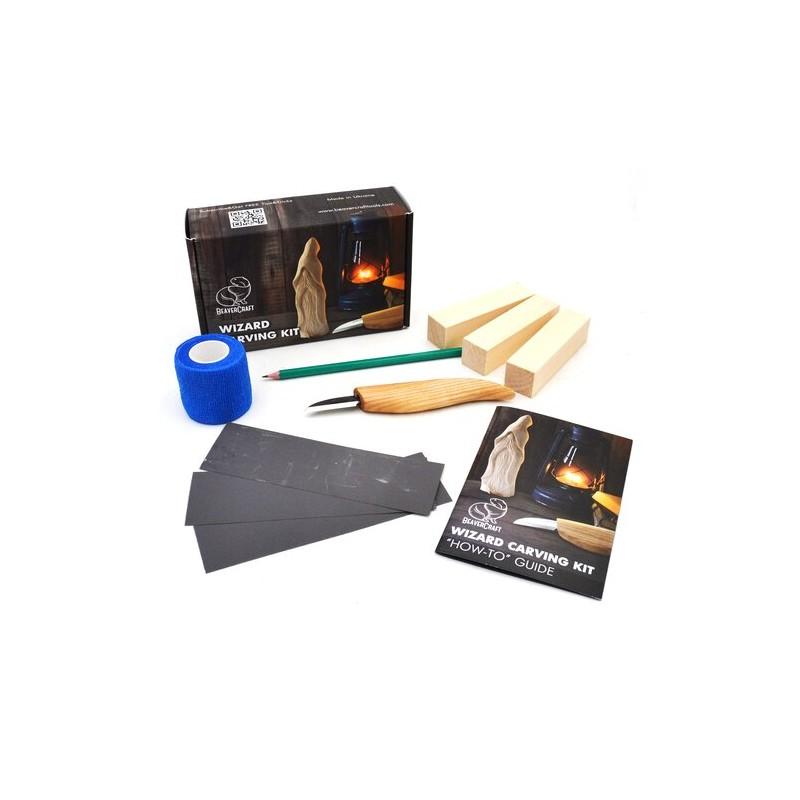 BeaverCraft Wizard Carving Kit DIY03