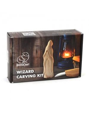 Kit à Sculpter Magiciens sur Bois - BeaverCraft DIY03