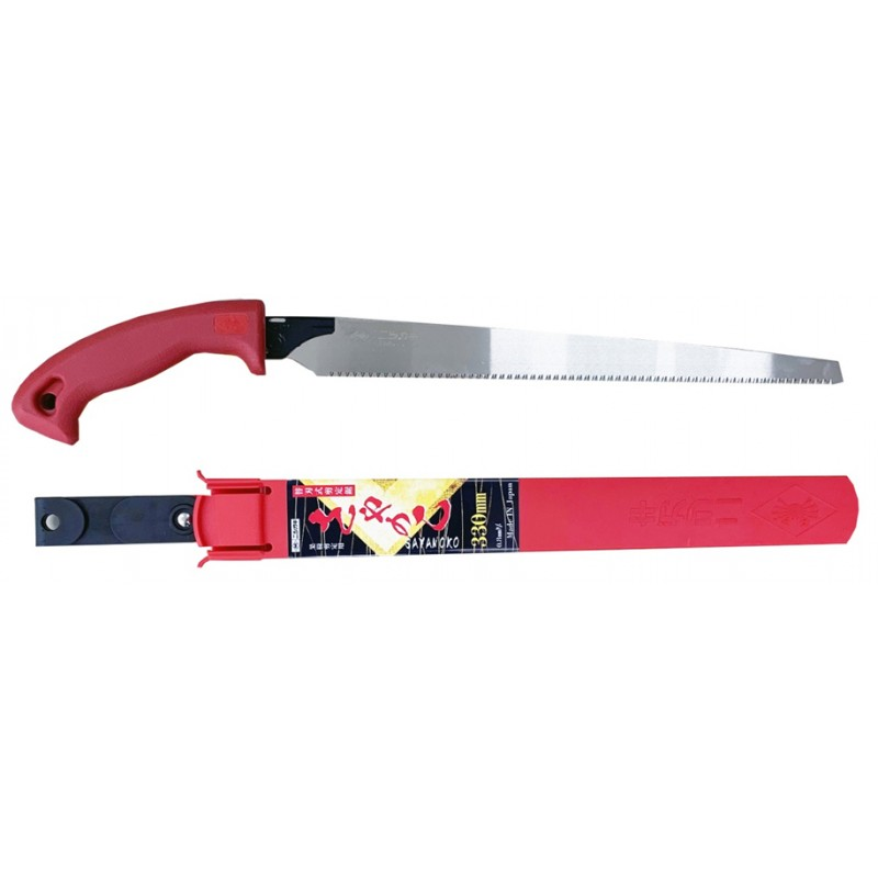 Japanese Pruning Saw with Interchangeable Blade 330 mm/13 inch - Nishigaki N-745 Made in Japan