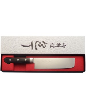 Original Japanese Nakiri Knife for Vegetables 16.5 cm 6.5 inch blade - Made in Japan